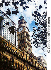Clock tower - Sydney, Australia - April 15th, 2012 : Clock...