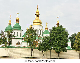 Saint Sophia Cathedral in Kiev - Cathedral Church of the...