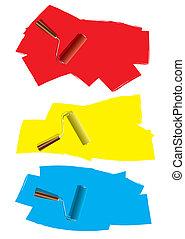 Roller paint concept