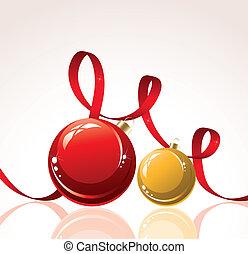 vector christmas decoration