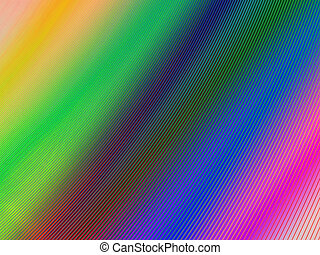 abstract rainbow surface, industry details