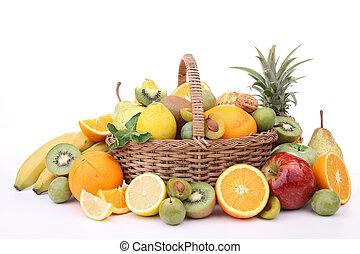 abundance of fruits