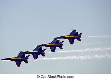 Air Show 4 - Air show at Jones Beach - Blue Angels