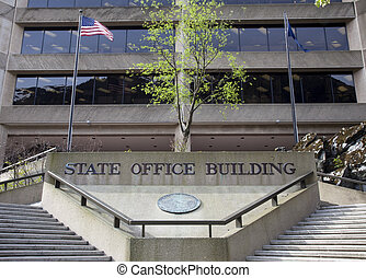 State Office Building - Front of the state office building...