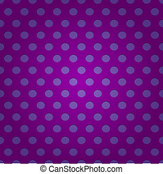 Seamless purple polka dots pattern - Seamless pattern of...