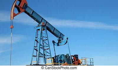 Oil production. oil pumps