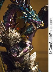 wonderful dragon sculpture