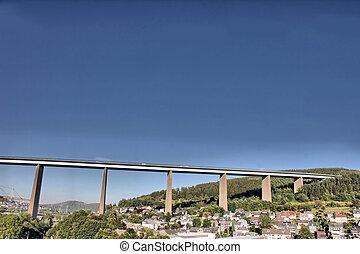 big highway bridge