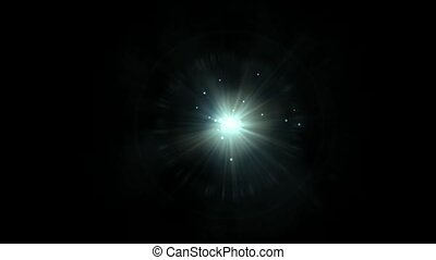 rays laser and dots in universe - rays laser dots in...
