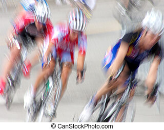 Fast Women - Professional women bicycle racers round the...