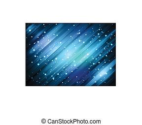 Blue Digital Background