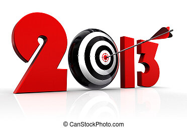 2013 new year and conceptual target