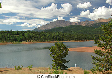 Lake Estes - Found here in the Rocky Mountains National...