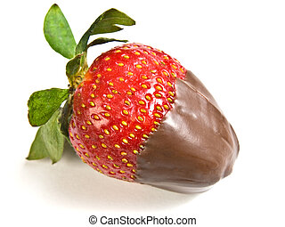 Chocolate covered Strawberry - OLYMPUS DIGITAL CAMERA