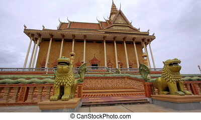 Oudong, old capital city of cambodia
