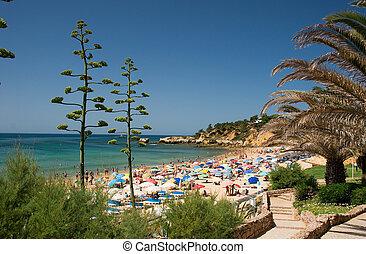 Praia da Oura em Faro - Algarve