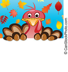 vector thanksgiving day design of turkey
