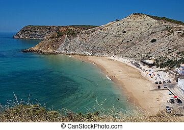 Praia do Burgau em Lagos - Algarve - Portugal