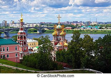 historic district of Nizhny Novgorod