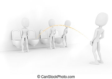 3d man for world piss: