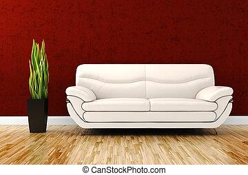 3d interior studio render