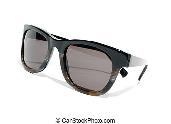 Cool 1980s style sunglasses against a white background