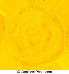 Yellow abstract background - Yellow painted abstract...