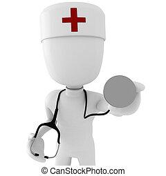 3d man doctor