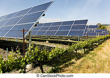 Agripower Alternative - A group of solar photo voltaic...