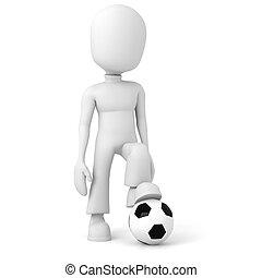 3d man football