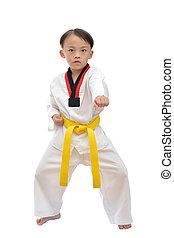 Taekwondo, niño