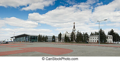 International Airport Kharkov - KHARKOV - SEPTEMBER 01:...