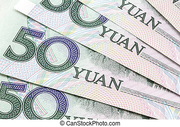 Chinese currency - 50 yuan