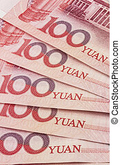 Chinese currency - 100 yuan