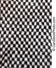 Woollen checkered texture - Chequered woollen cloth