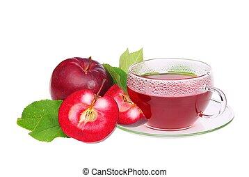 tea from apple 01