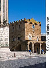 Soliano palace. Orvieto. Umbria. Italy.