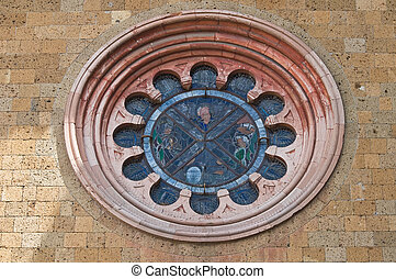 Church of St. Andrea. Orvieto. Umbria. Italy.