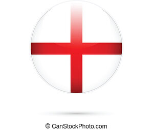 England flag on button