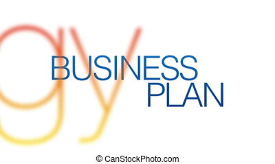 Business Plan Kinetic Typography