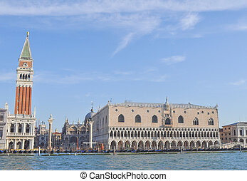 San Marco in Venice - Piazza San Marco church square in...