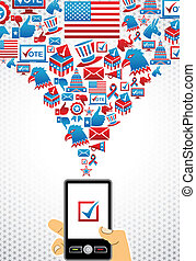 USA elections online voting - US elections online voting:...