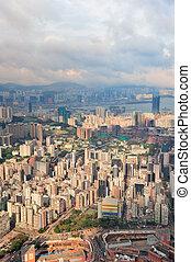 Hong Kong aerial view