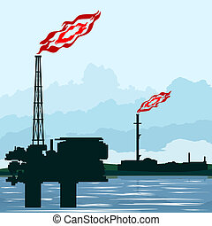 Natural gas industry - Circuit works the oil industry...