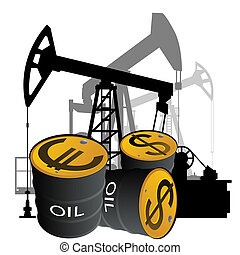 Sale of petroleum products - Circuit pump and barrels of...