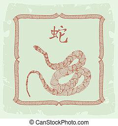 snake- Chinese zodiac sign