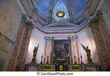 St. Peter's Church, Jaffa - The interior of St. Peter's...