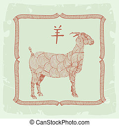 goat- Chinese zodiac sign