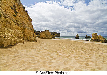 Wonderfull Portuguese beach - Wonderful view of a beautiful...