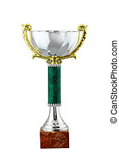 Cup award - Trophy cup award for the winner. Gold and silver...